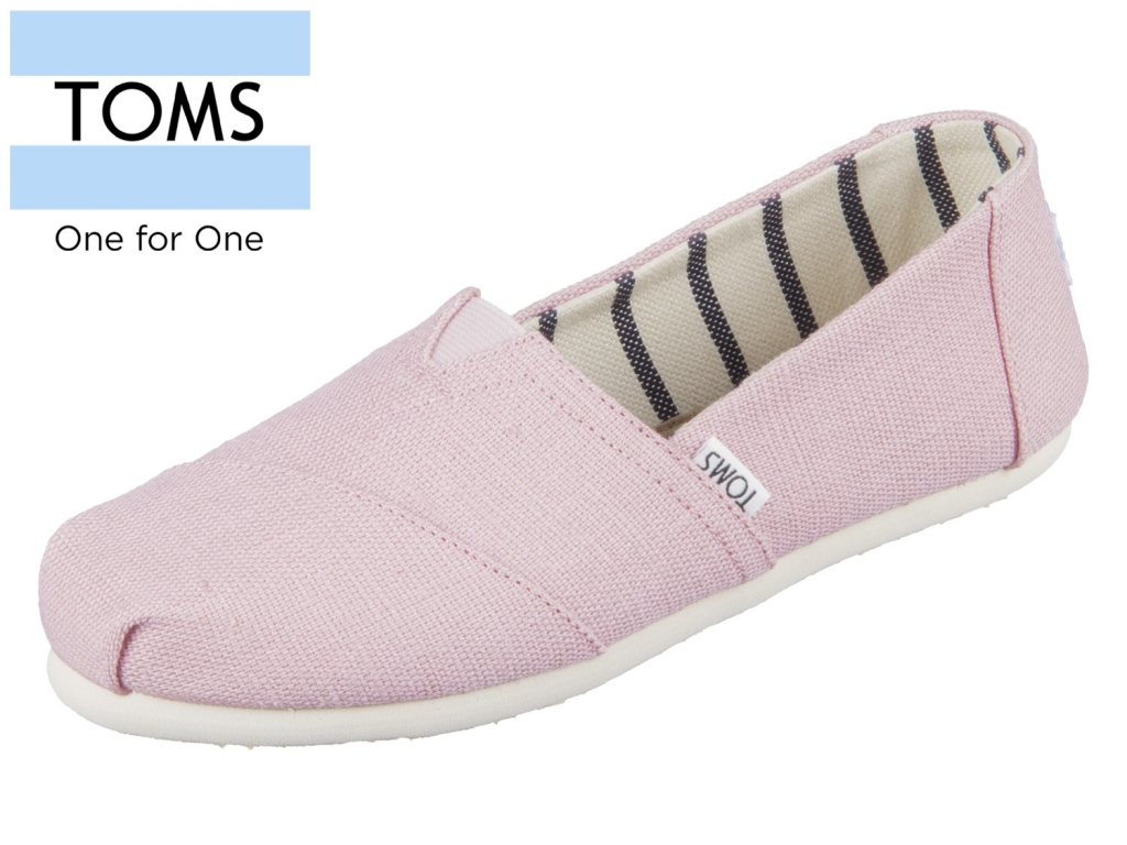 TOMS Classic 10011677 pink Canvas
