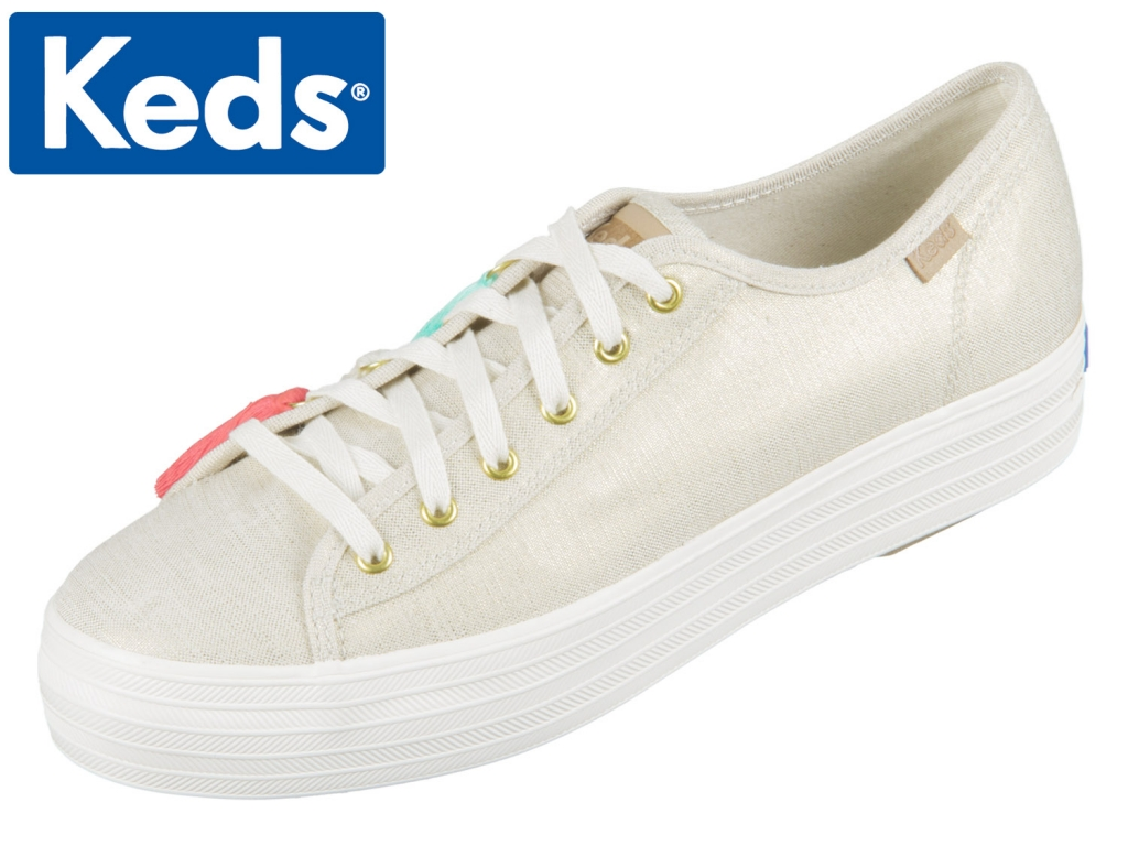 Keds Triple Kick WF58177-20 natural gold Triple Kick Tassel