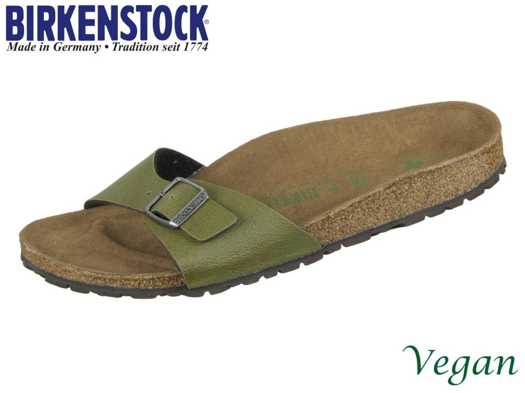 Birkenstock Madrid 1009985 olive Birkoflor Pull Up Vegan