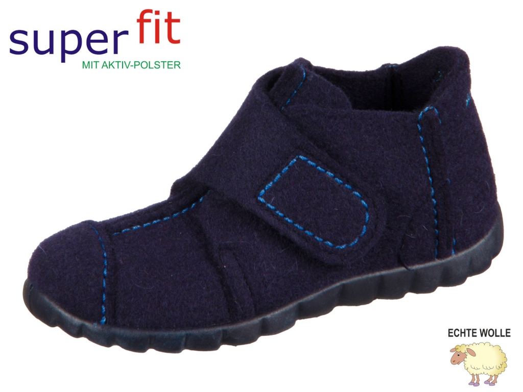 SuperFit HAPPY 8-00293-80 ocean multi Wollfilz