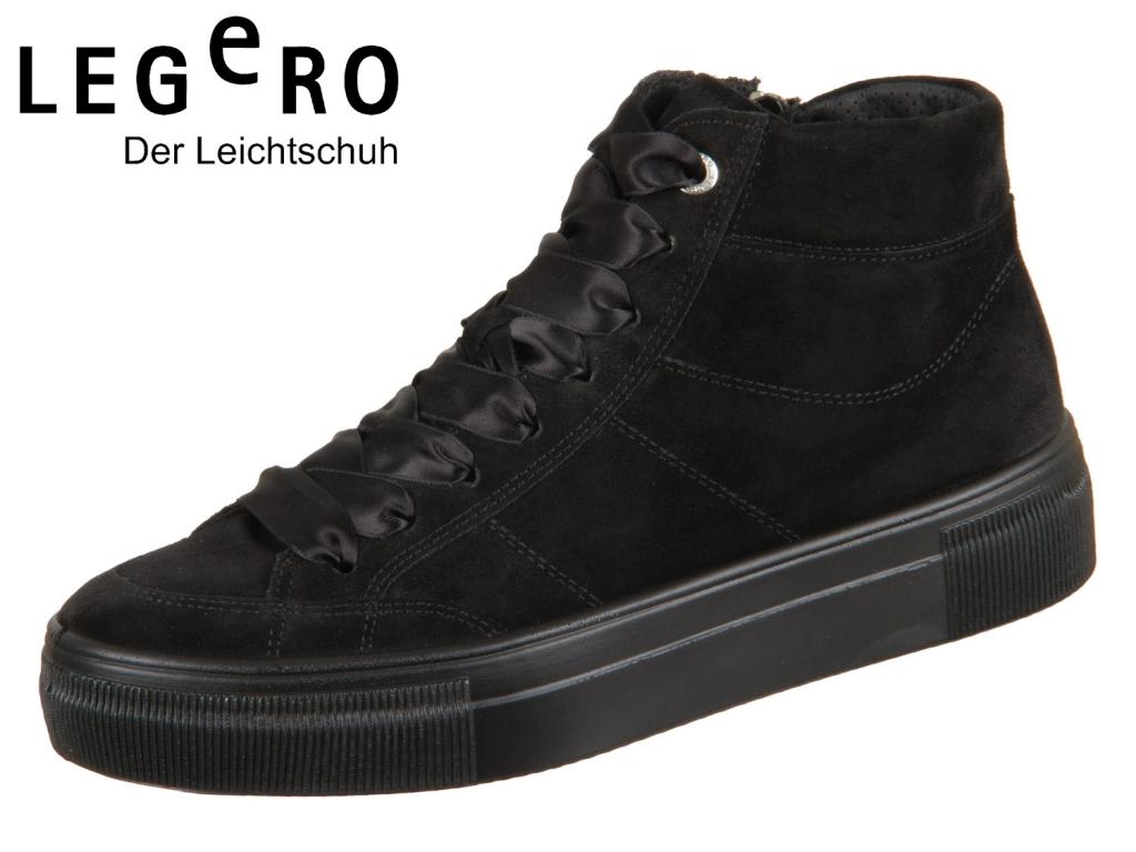Legero LIMA 3-09918-00 schwarz Velour