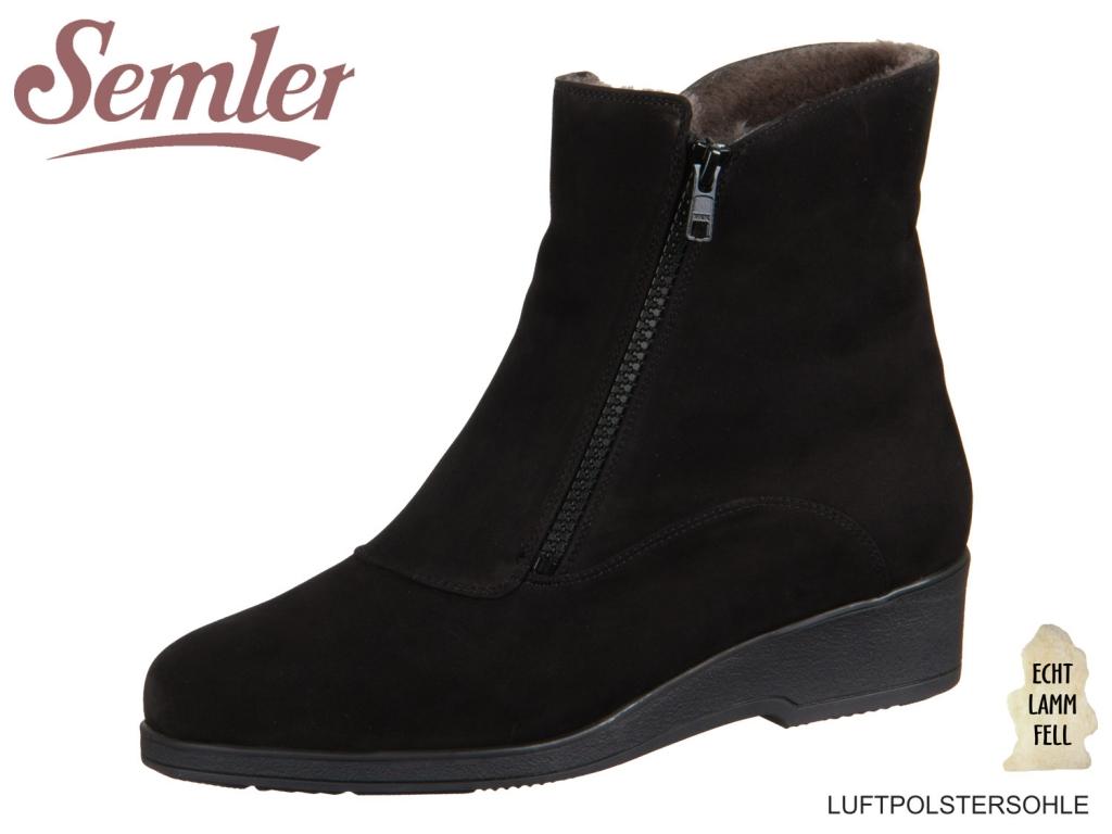 Semler Sella S1746-404-0001 schwarz Nubukina