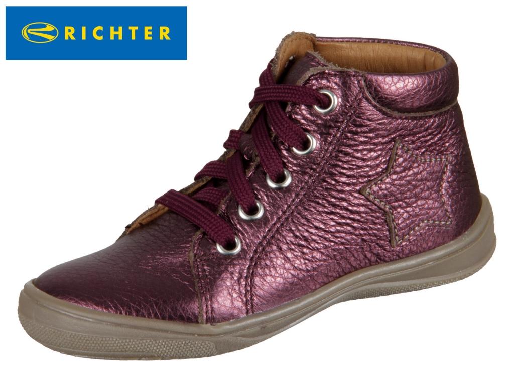 Richter 0324-443-7610 burgundy Metallicleder