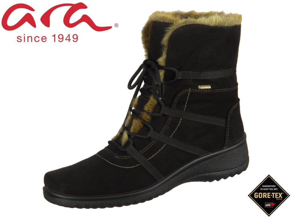 ARA München 12-48523-06 schwarz-natur Hydro-Kai-Tex Lapin