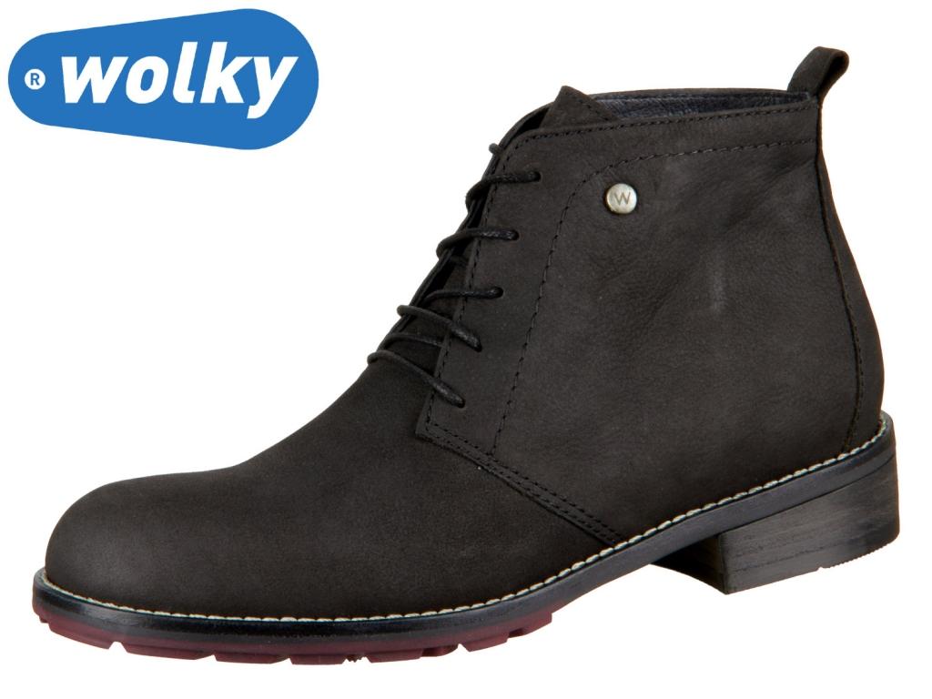 Wolky Fairy 0444311000 black Antique Nubuk