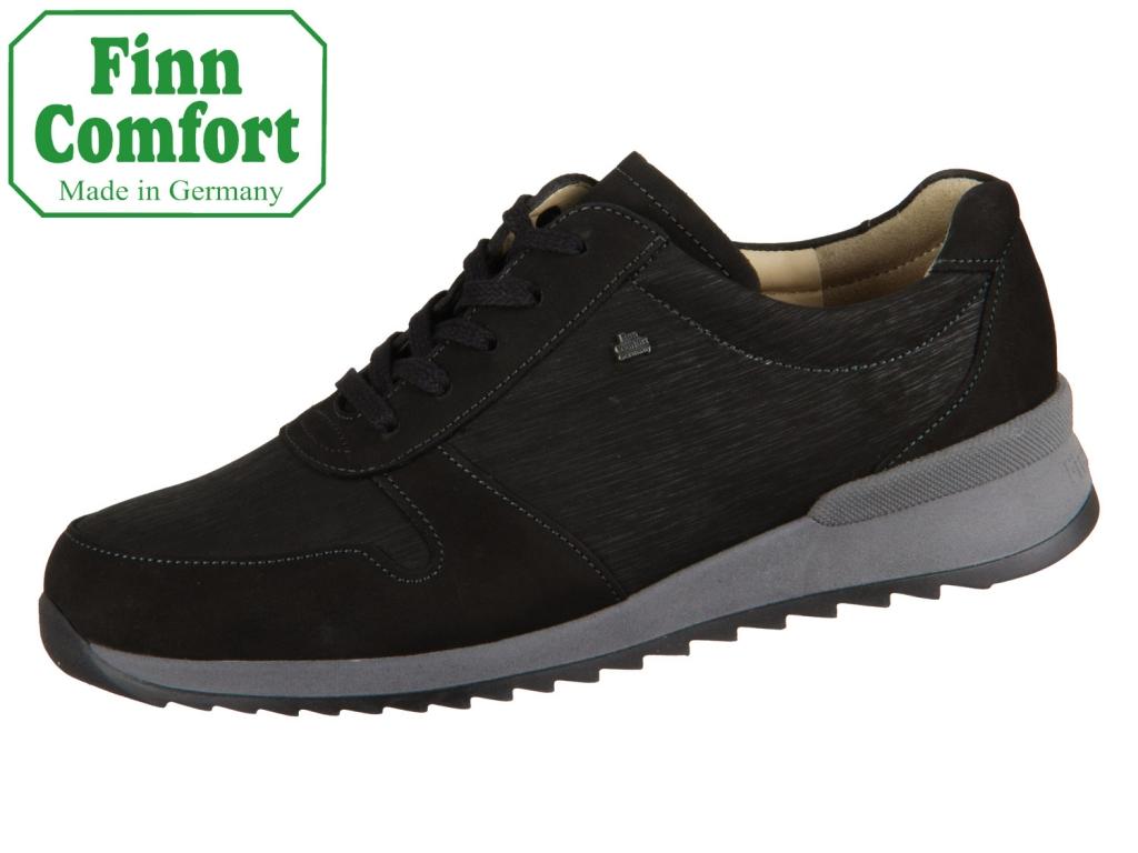 Finn Comfort Sidonia 02364-901793 schwarz Nubuk Waving