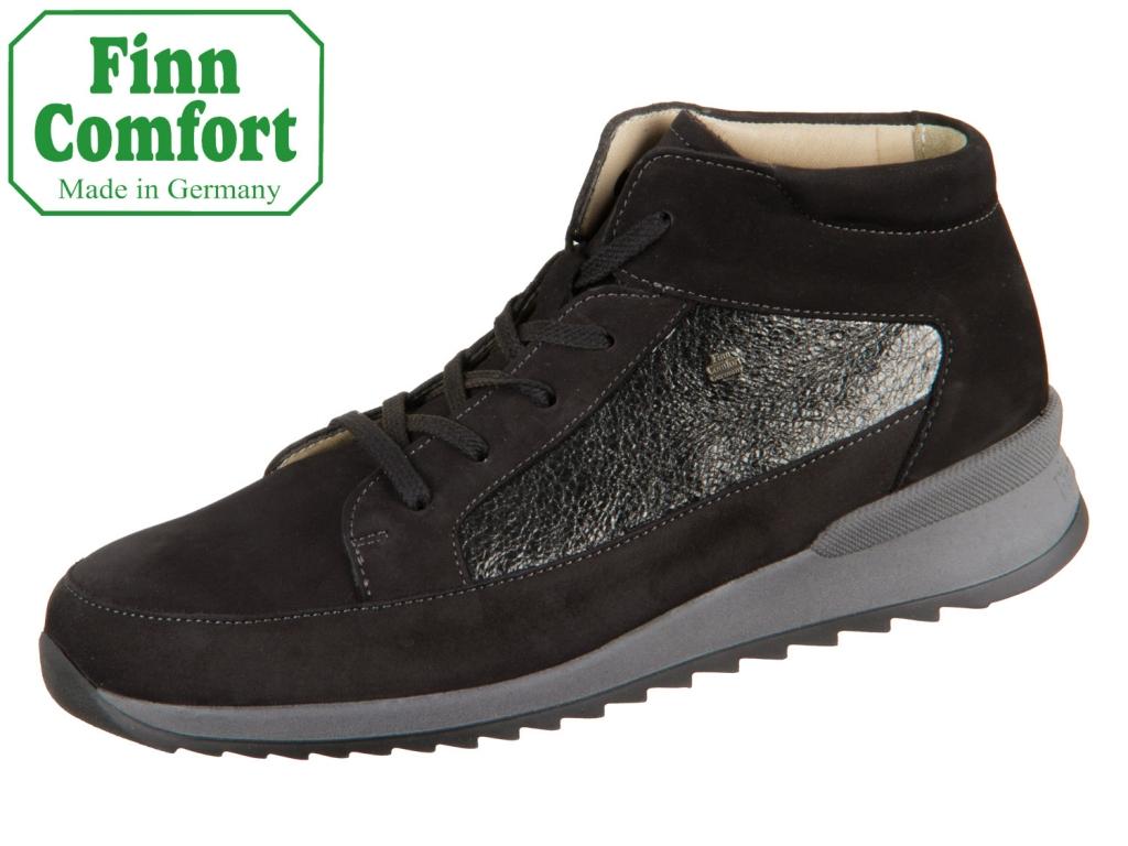 Finn Comfort Burley 02378-901890 schwarz nero Nubuk Sultan