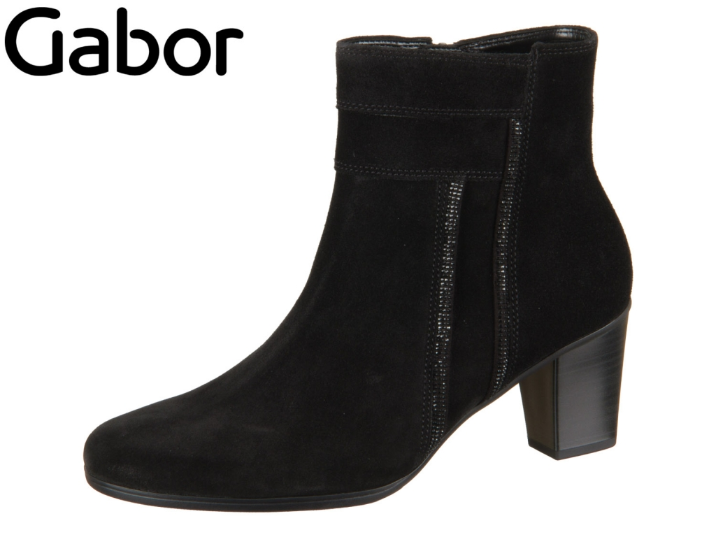 Gabor 95.611-17 schwarz Dreamvelour