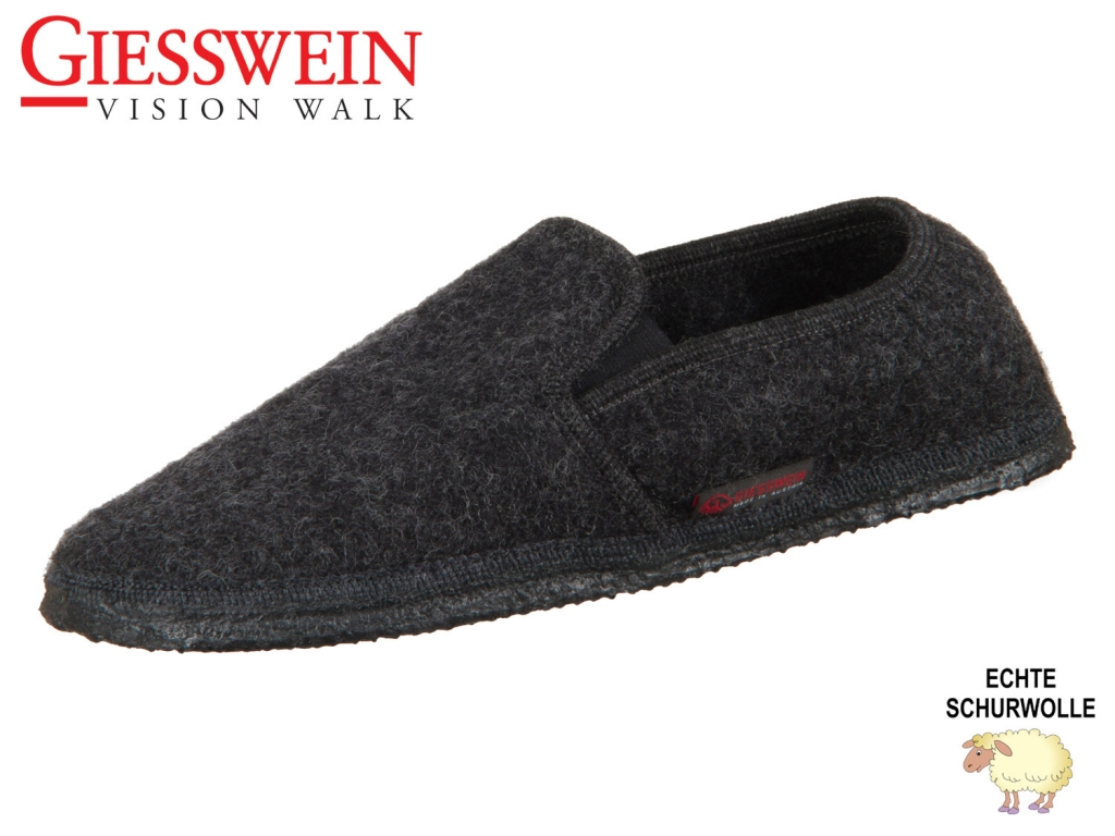 Giesswein Niederthal 40847-019 anthrazit Schurwolle