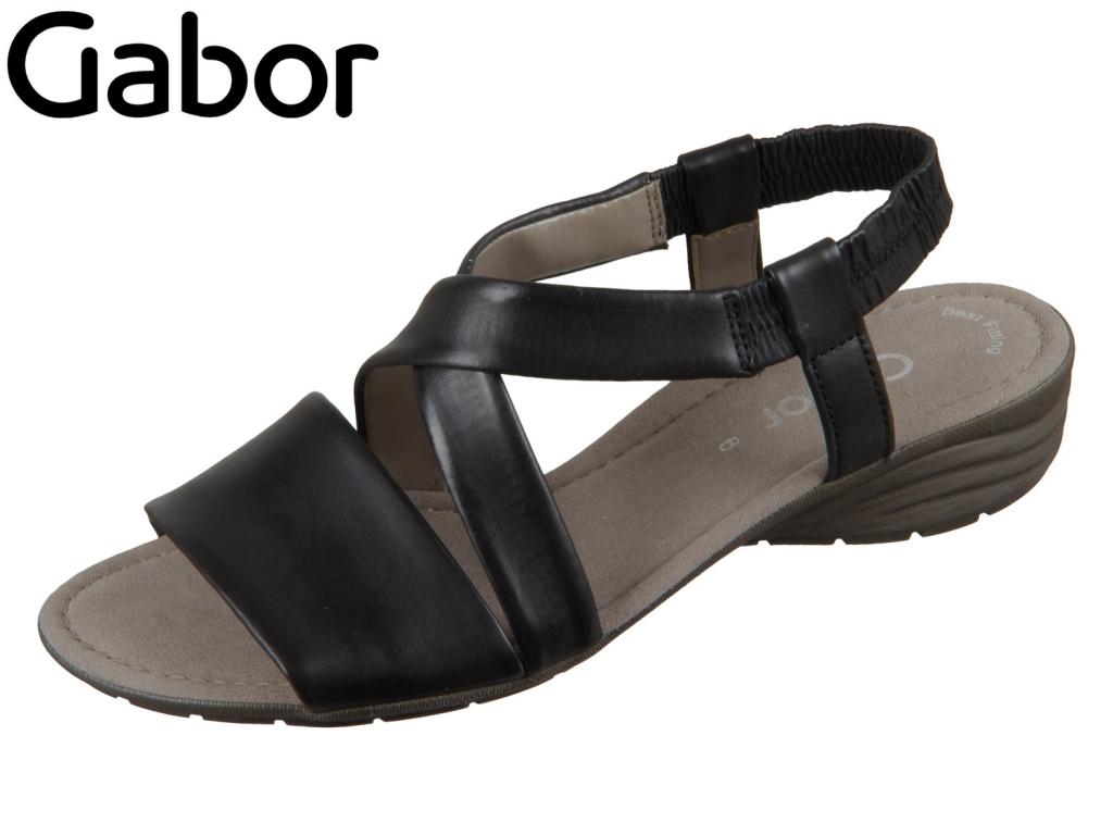 Gabor 84.550-27 schwarz Nappa