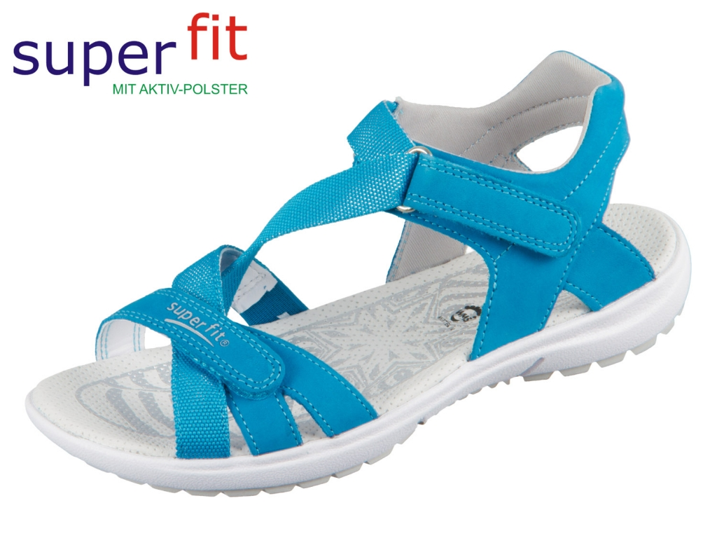 SuperFit Rainbow 4-09203-80 blau Nubuk