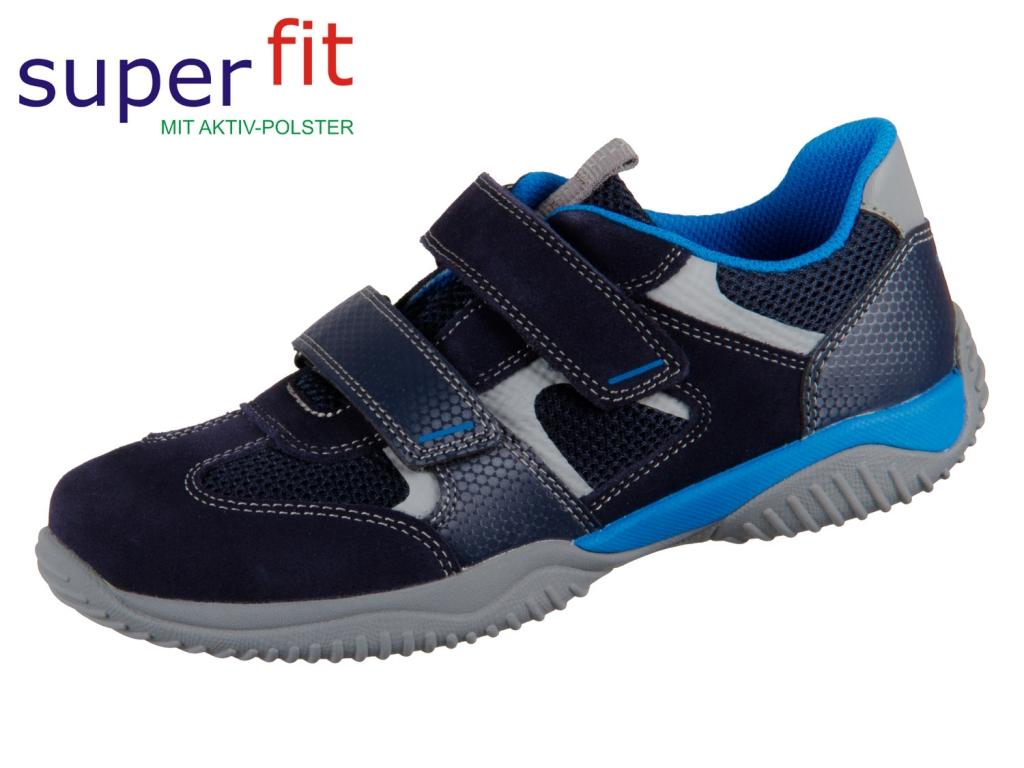 SuperFit STORM 8-09380-80 blau Velour Tecno