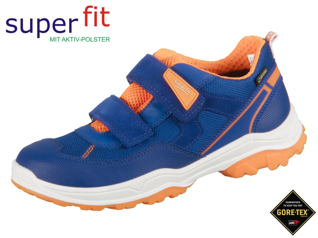 SuperFit Jupiter 4-09064-81 blau orange Velour Tecno