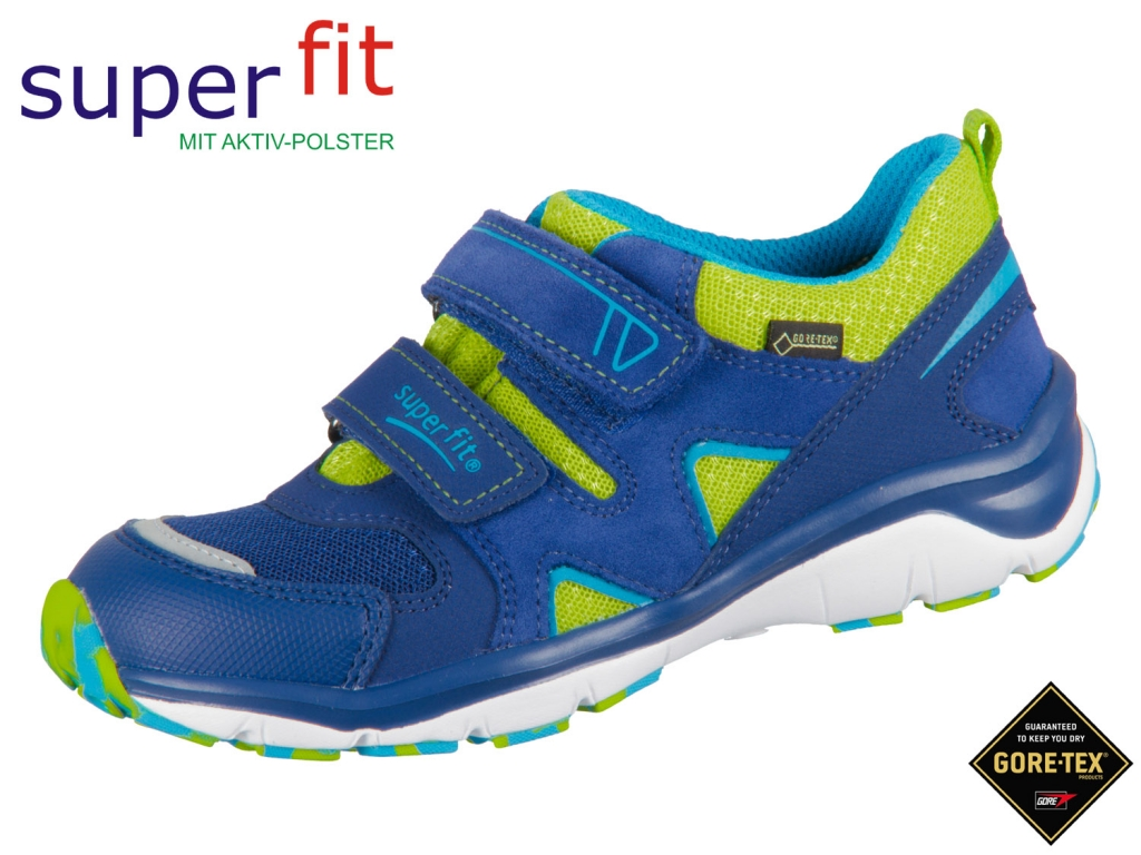 SuperFit Sport5 4-09240-82 blau grün Velour Tecno