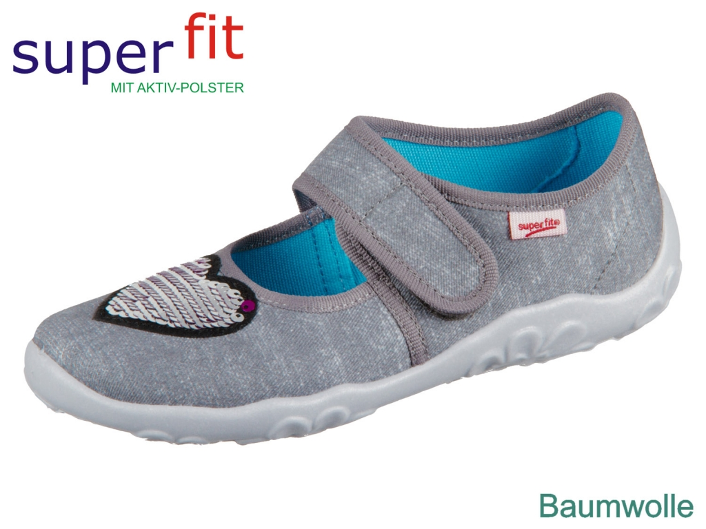 SuperFit BONNY 4-00280-20 grau Textil