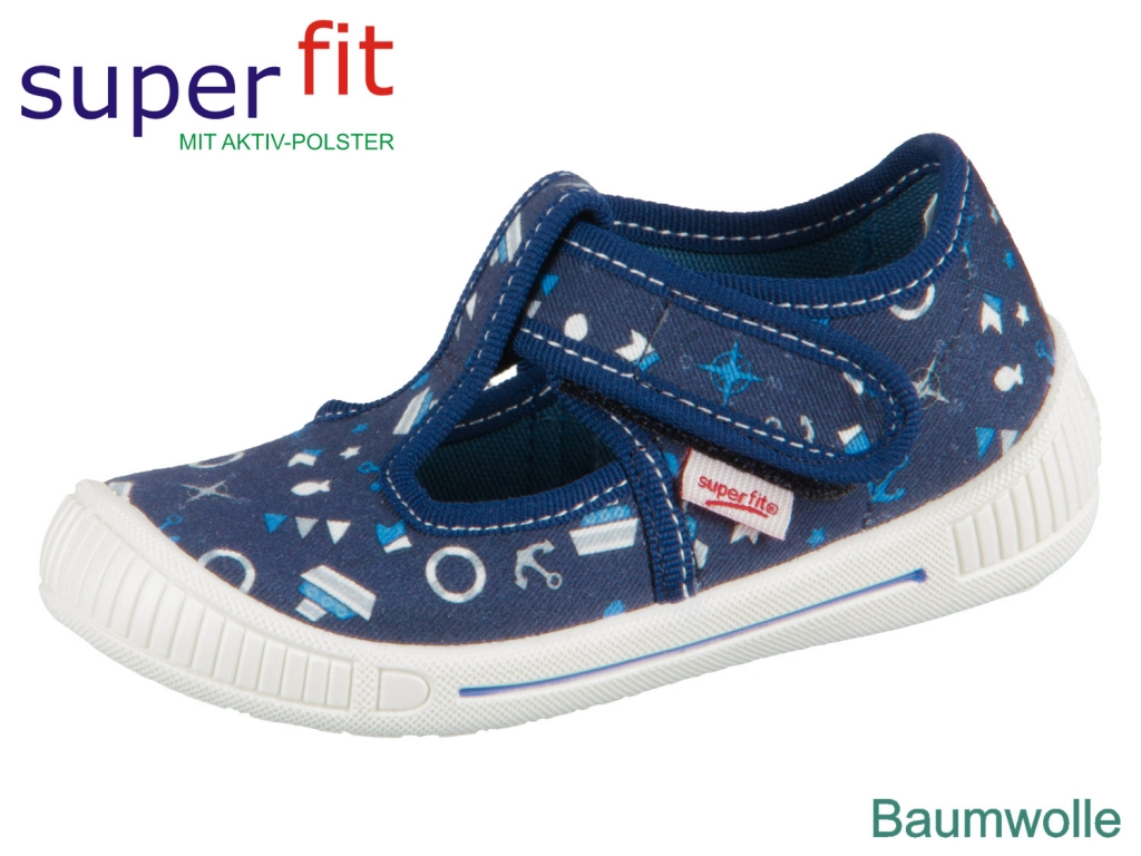 SuperFit BULLY 4-00265-80 blau Textil