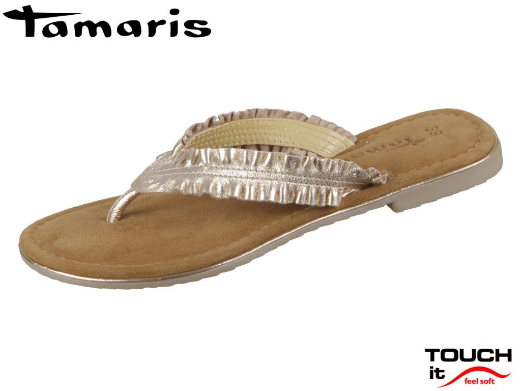 Tamaris 1-27110-22-952 rose metallic Leder
