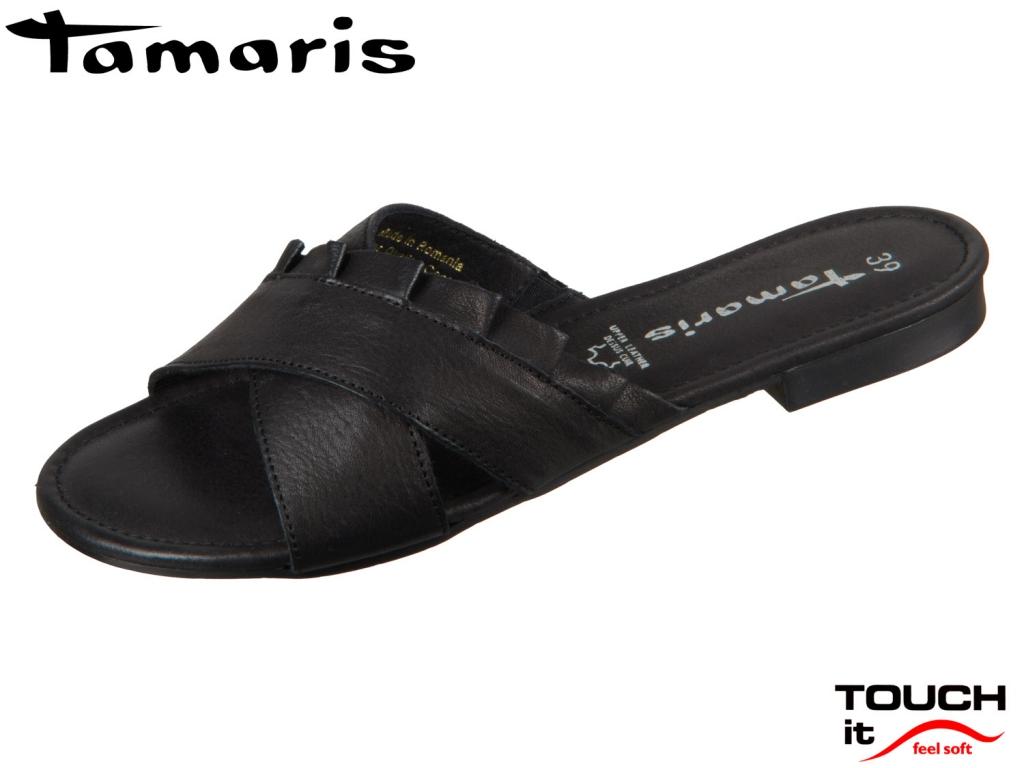 Tamaris 1-27118-22-001 black Leder
