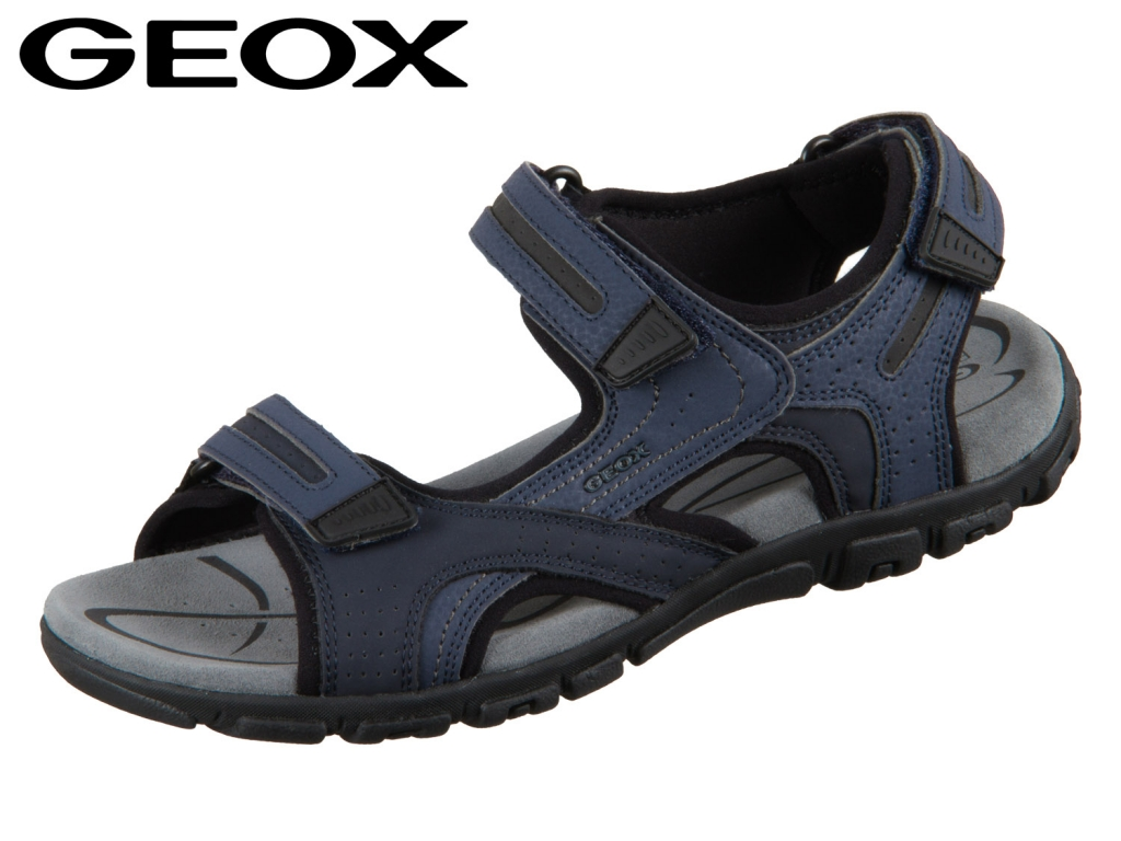 Geox U8224D-0BC50-C4422 navy dark grey Vitello Synthetik