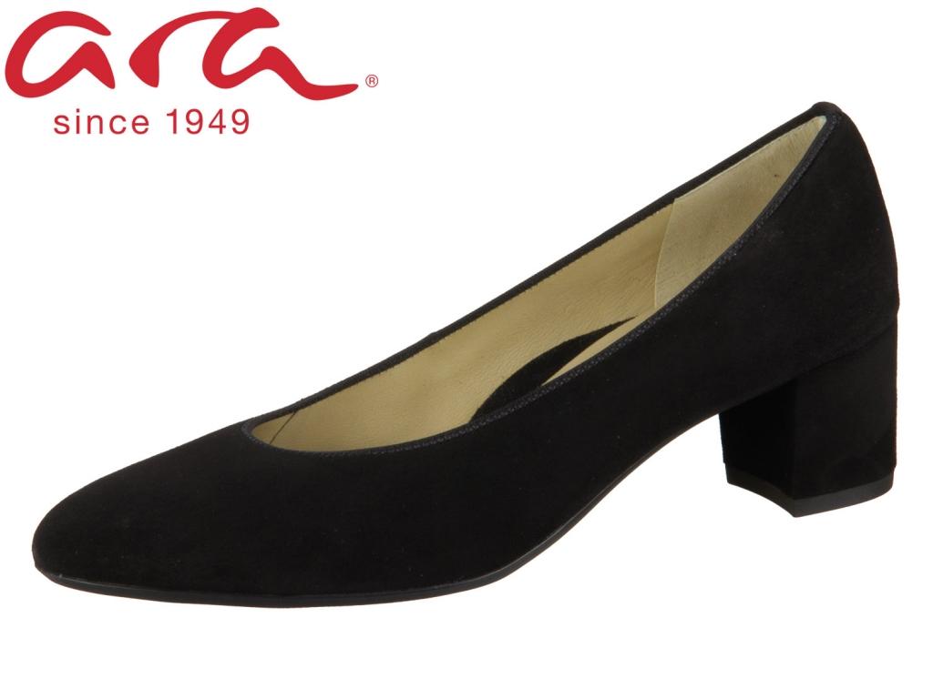 ARA Knokke 12-11486-07 schwarz Samtchevro
