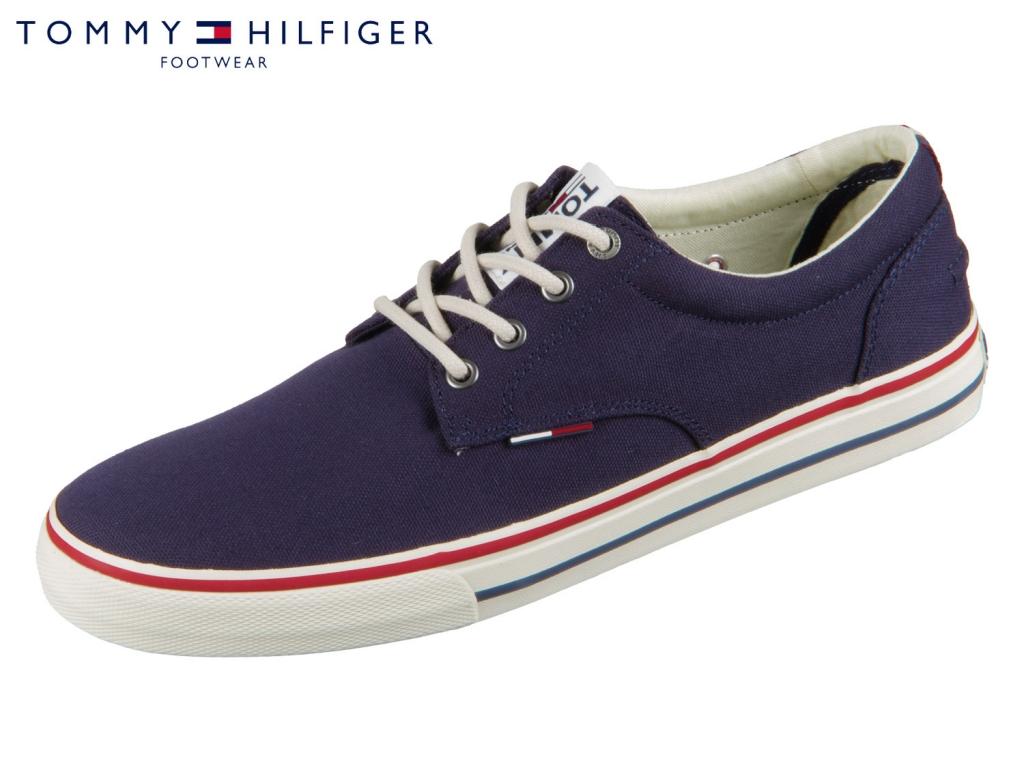 Tommy Hilfiger Tommy Jeans Textile Sneaker EM0EM00001-006 ink Textile