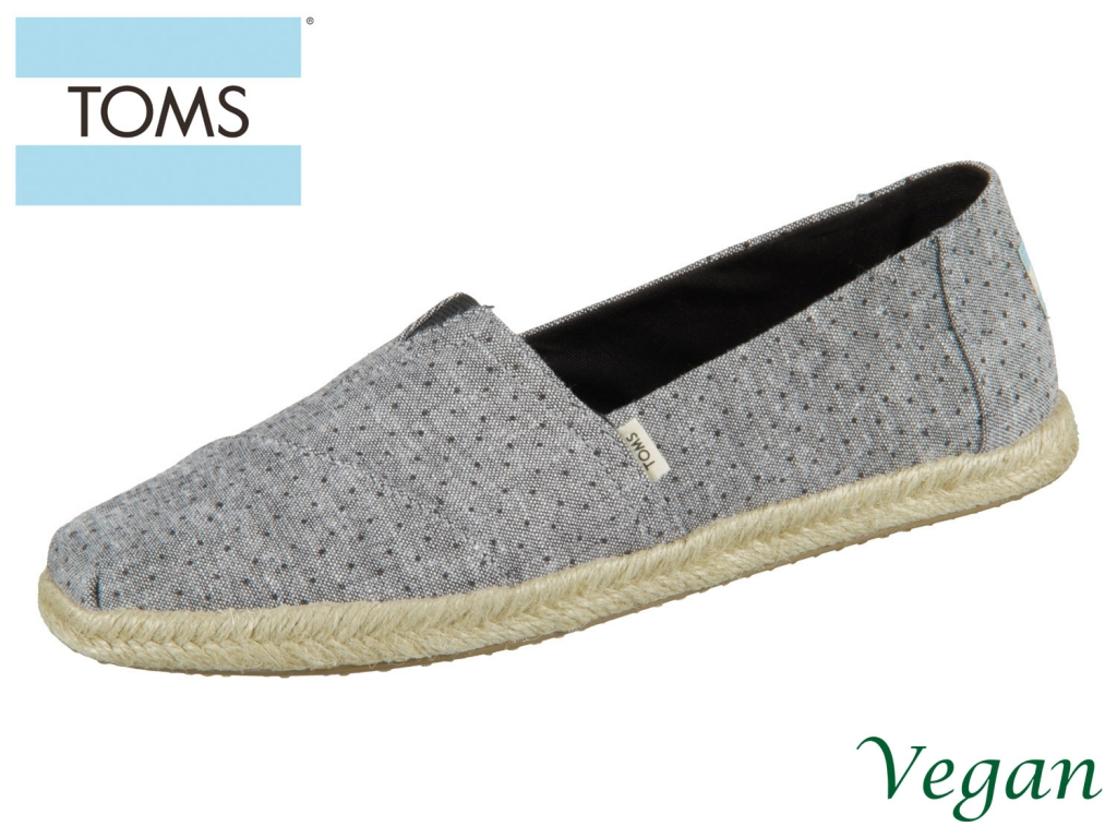 TOMS Alpargata 10013523 black Canvas