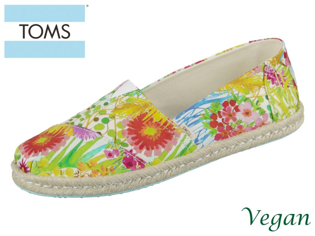 TOMS Alpargata 10013474 sunshine floral Canvas