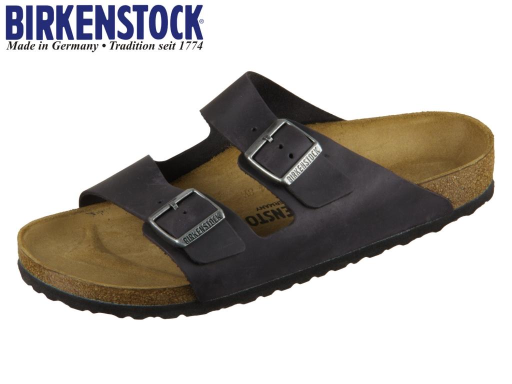 Birkenstock Arizona 552113 oiled black Leder