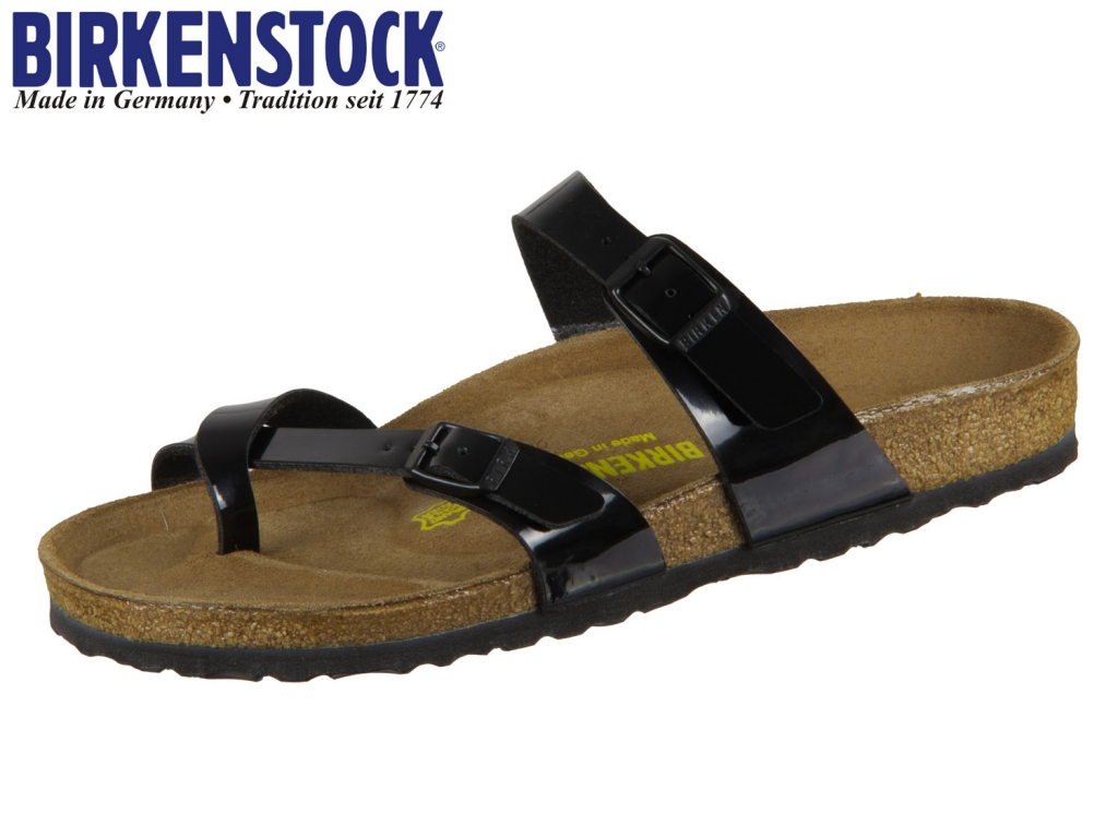 Birkenstock Mayari 071091 black Birko Flor Lack