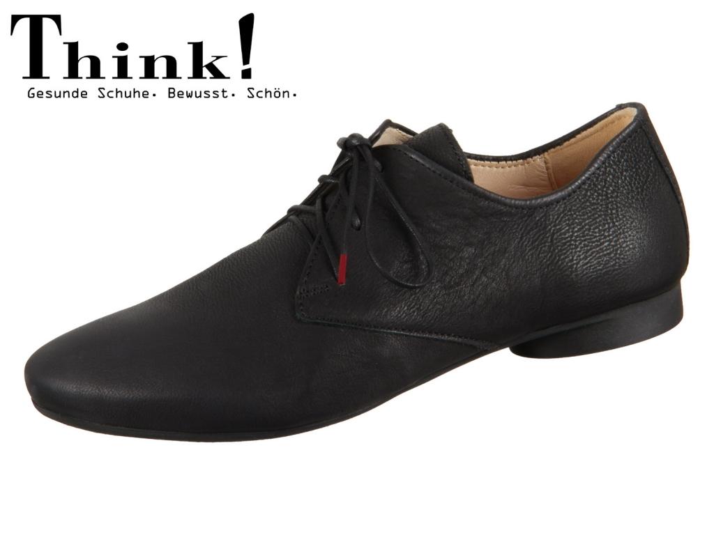 Think! Guad 84270-00 schwarz Texano Calf Veg