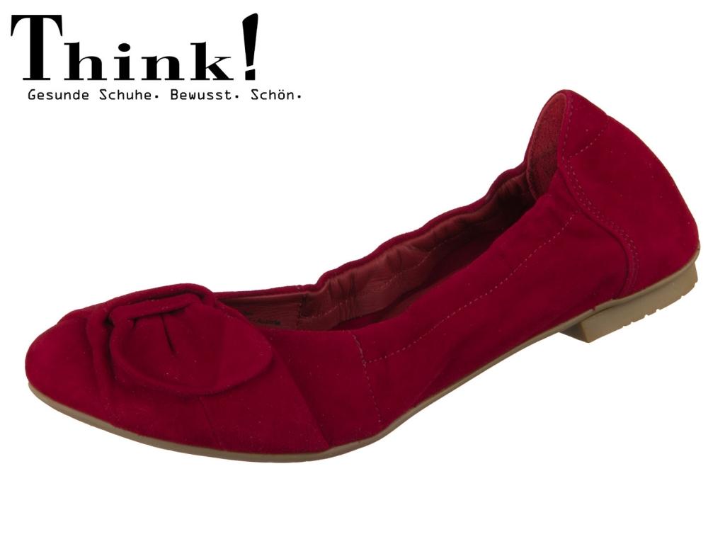 Think! BALLA 84163-70 rosso Velvet Goat