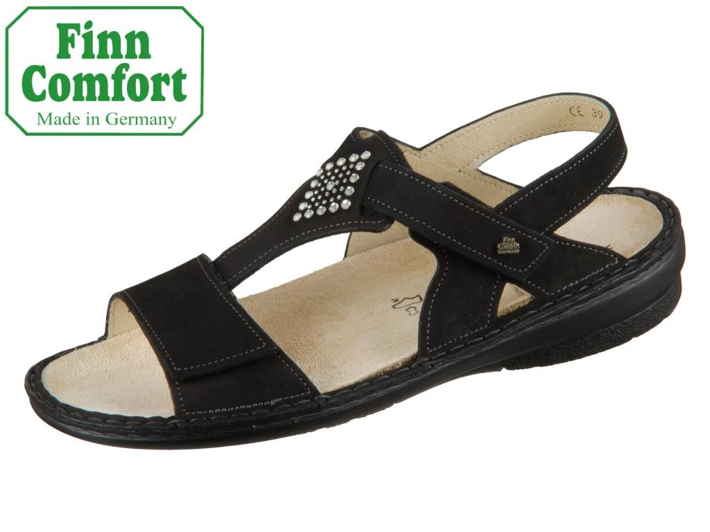 Finn Comfort Calvia 02807-007099 schwarz Buggy