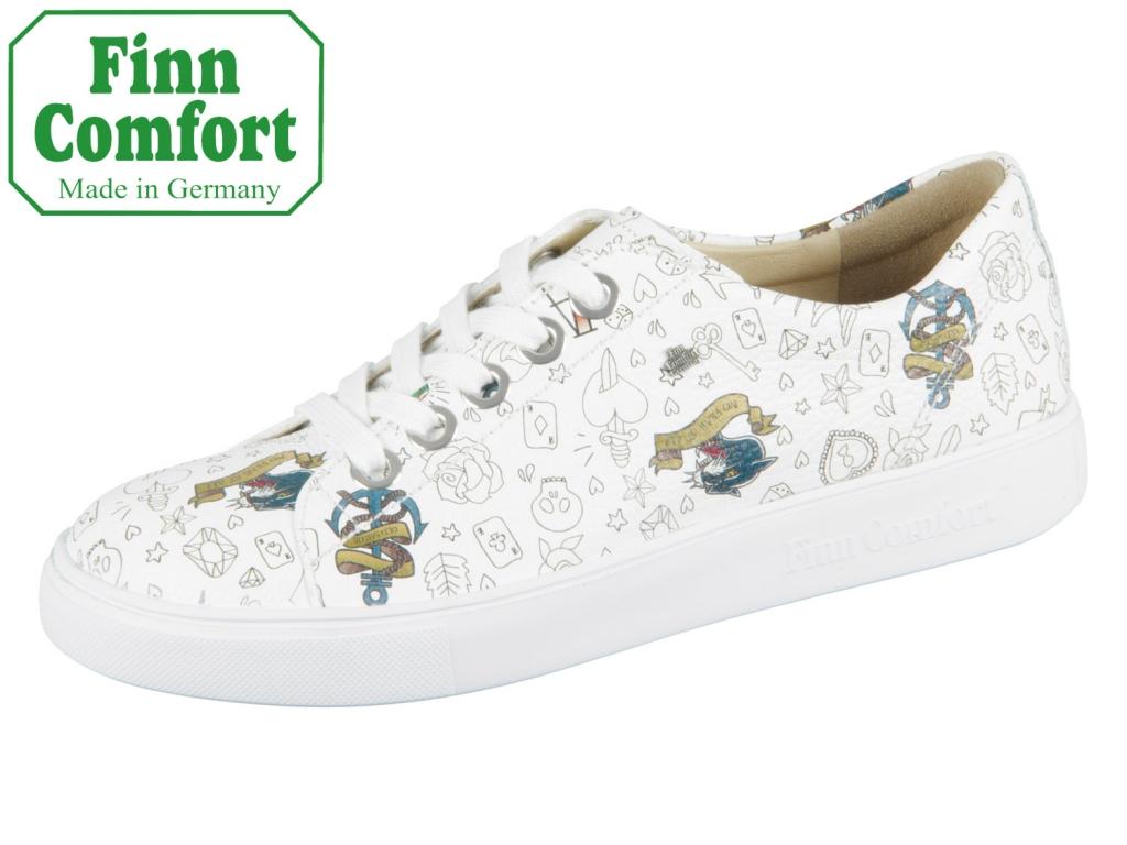 Finn Comfort Elpaso 02479-632000 weiss Graffiti