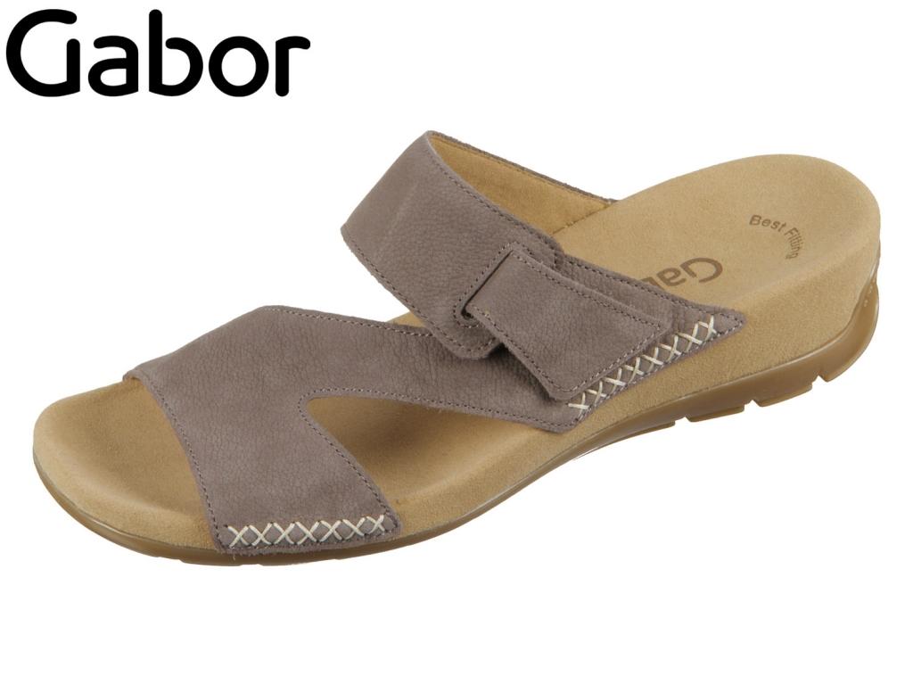 Gabor 23.730-13 wallaby Nubuk Lavato