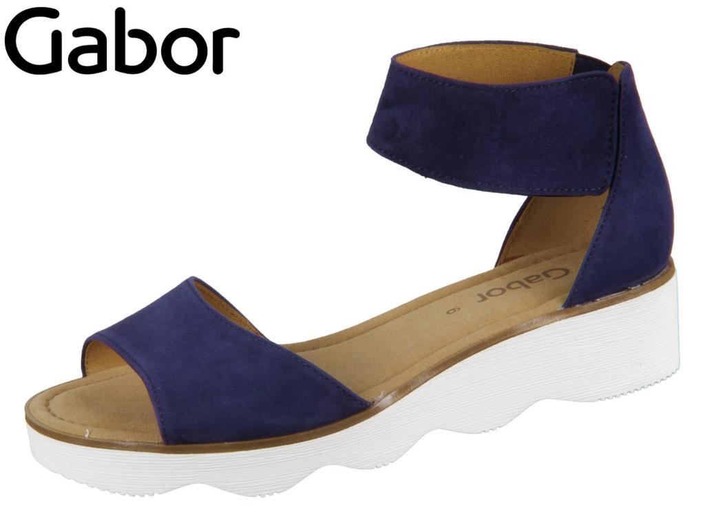 Gabor 21.610-16 bluette Samtchevrau