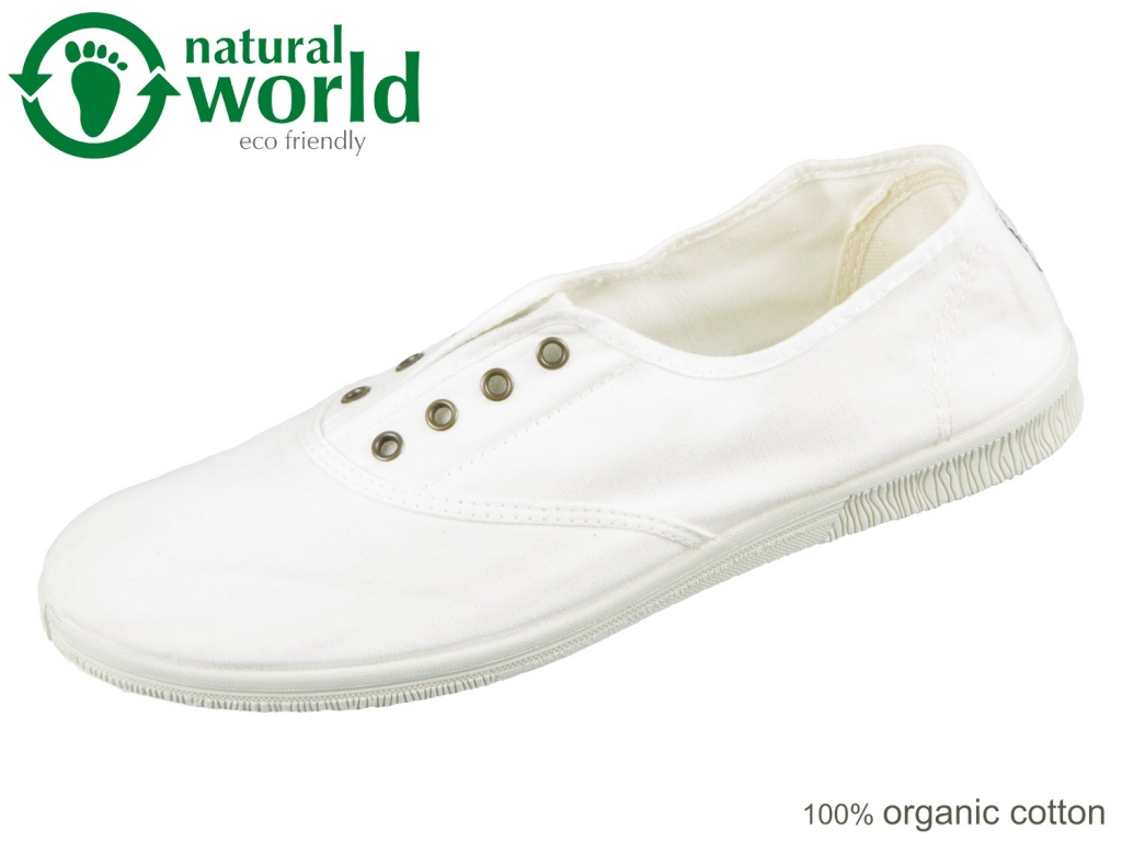 natural world 612E-505 white Baumwolle organic cotton
