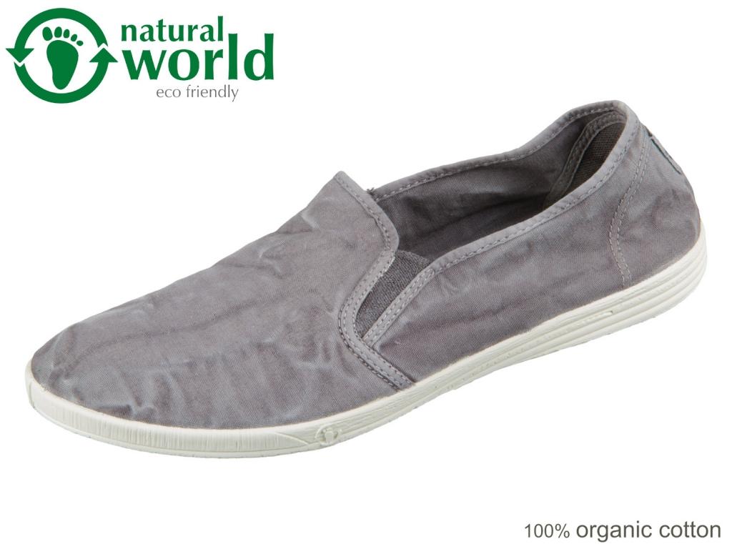 natural world 315E-623 gris enz Baumwolle