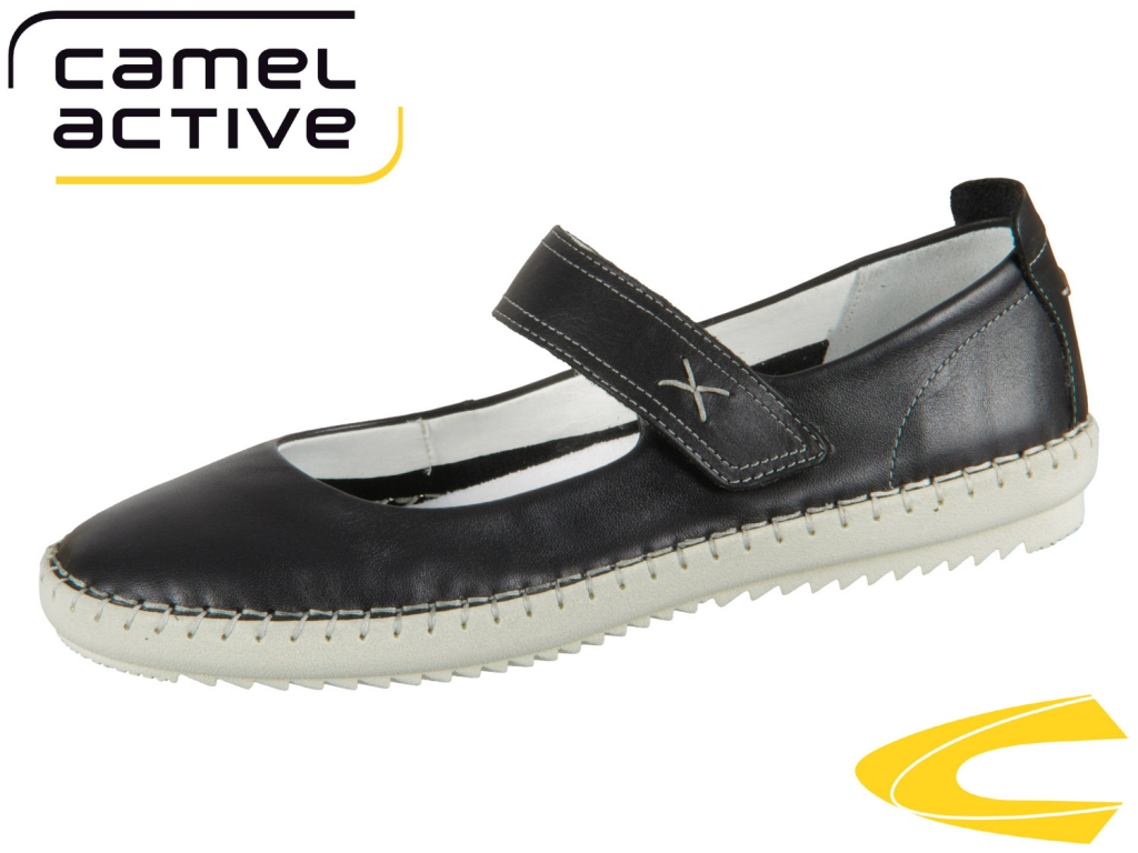 camel active ethnic 880.71.02 black Velvet Cow