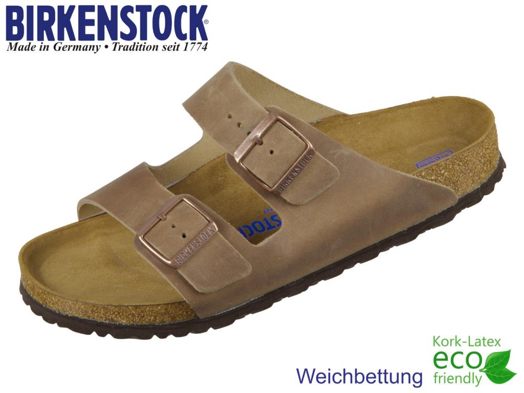 Birkenstock Arizona 552811 Tabacco brown Nu oiled