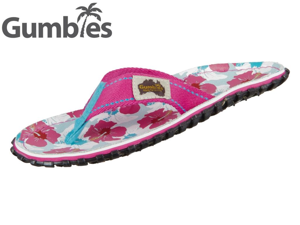 Gumbies GUMBIES Australian Shoes 2209 mixed hibiscus
