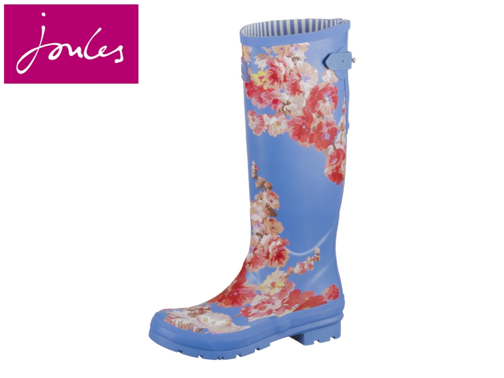 Tom Joule Welly Print 201034 bluflrl