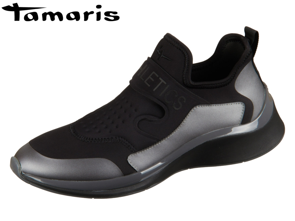 Tamaris 1-24701-22-098 black combi Textil Synthetik