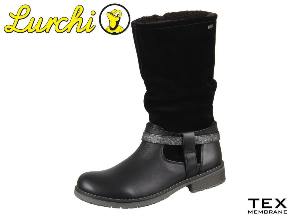Lurchi Lia 33-17026-29 black Suede Nappa