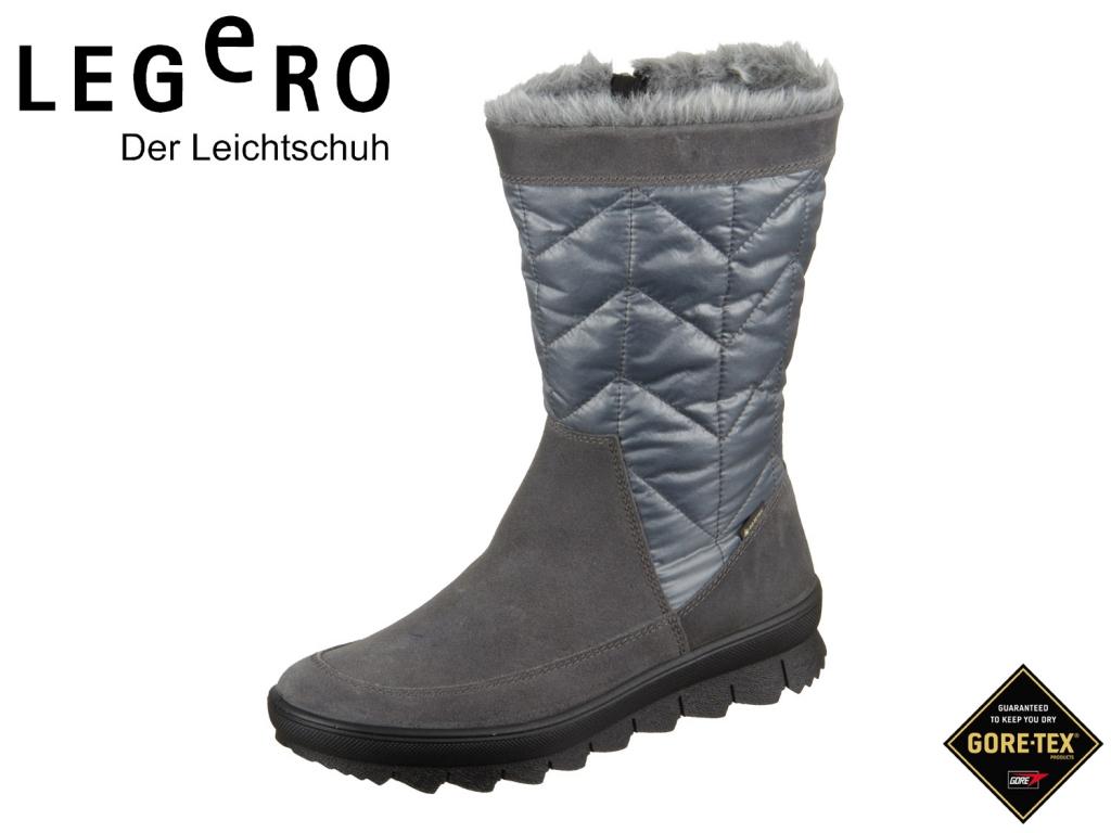 Legero NOVARA 5-00934-21 basalto grau Velour Textil