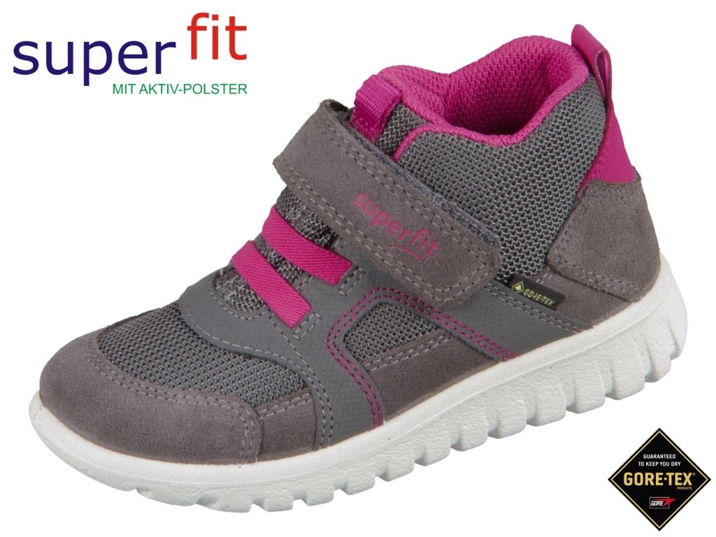 SuperFit SPORT 7 mini 5-09198-21 grau rosa Velour Tecno