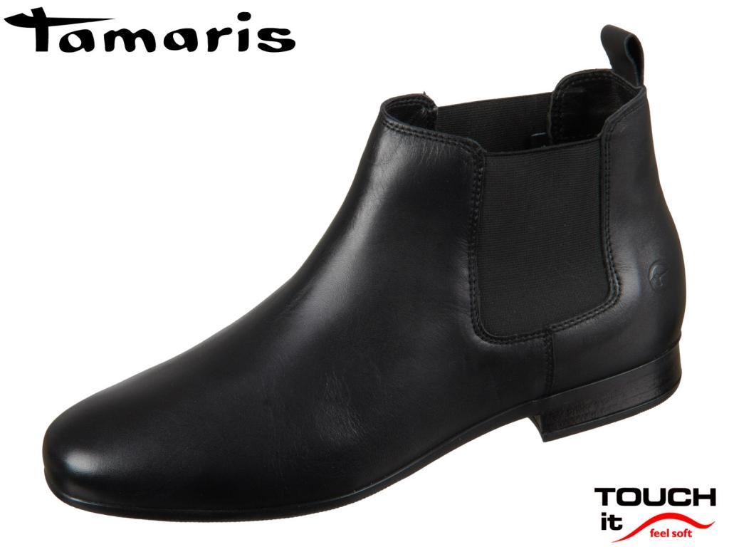 Tamaris Chelsea Boot 1-25326-23-001 black Leder