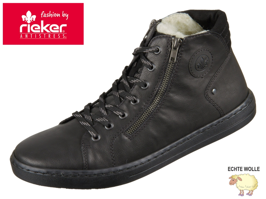 Rieker 30921-01 schwarz Tamburo Burlington