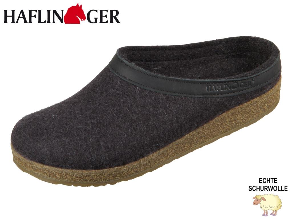 Haflinger Grizzly Torben 713001-77 grafit Wolle