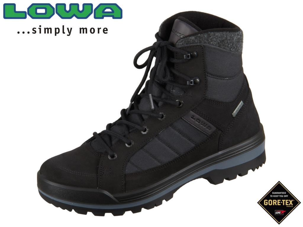 Lowa Isarco II GTX MID 410545 0999 schwarz Leder-Textil