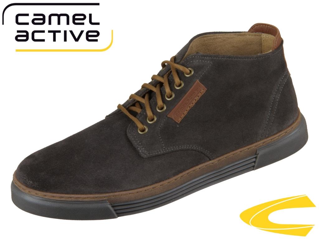 camel active Racket 460.20-12 dk grey Oil sued